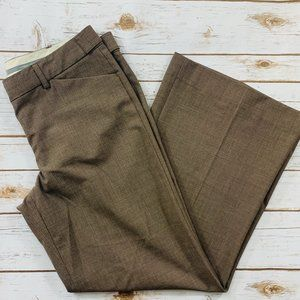 Express Women's Pants Editor Brown Wide Leg 10